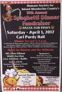 HSIMC Pasta Feed Fundraiser