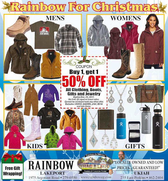 Sale at Rainbow