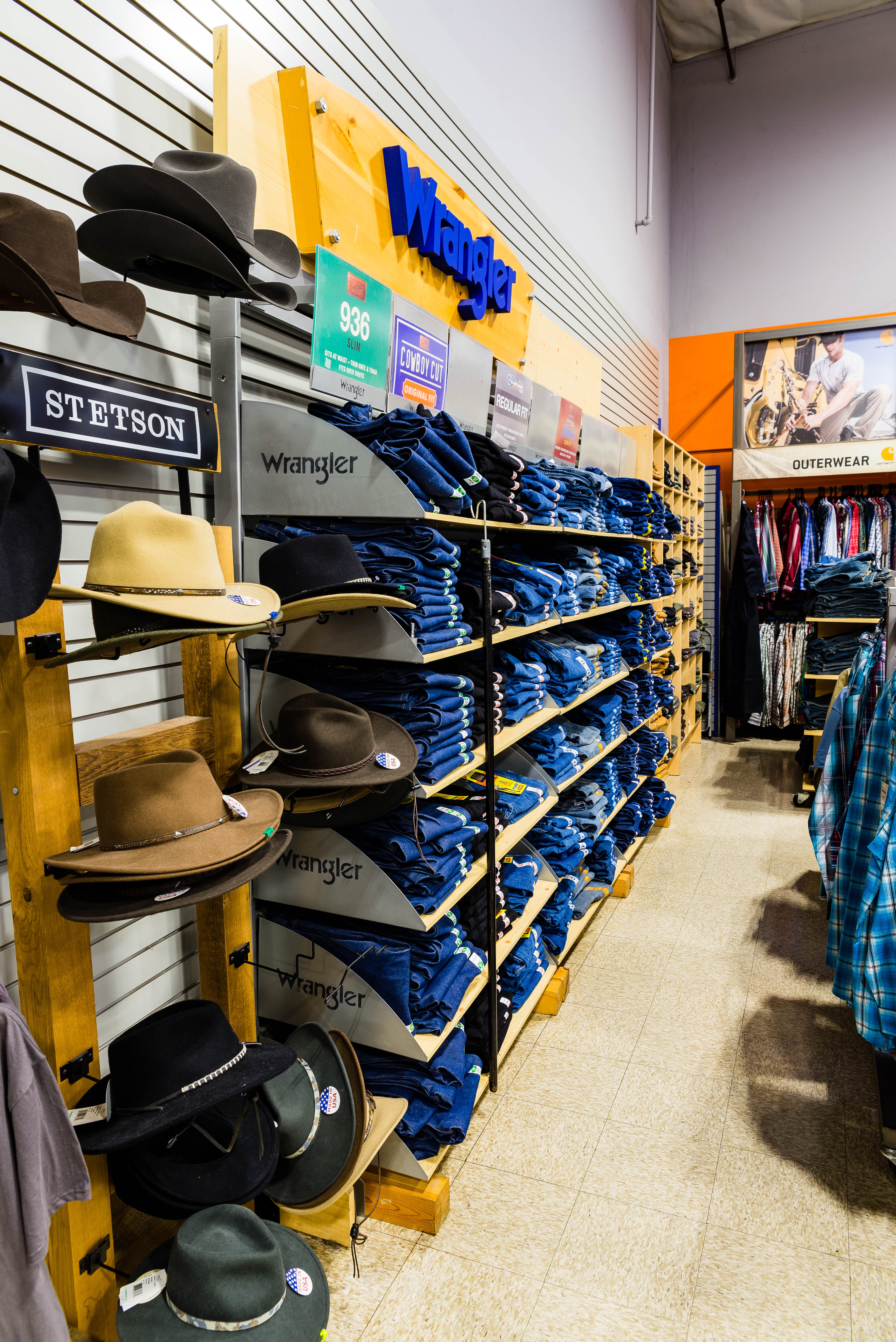 Stetson Hats at Rainbow Ag