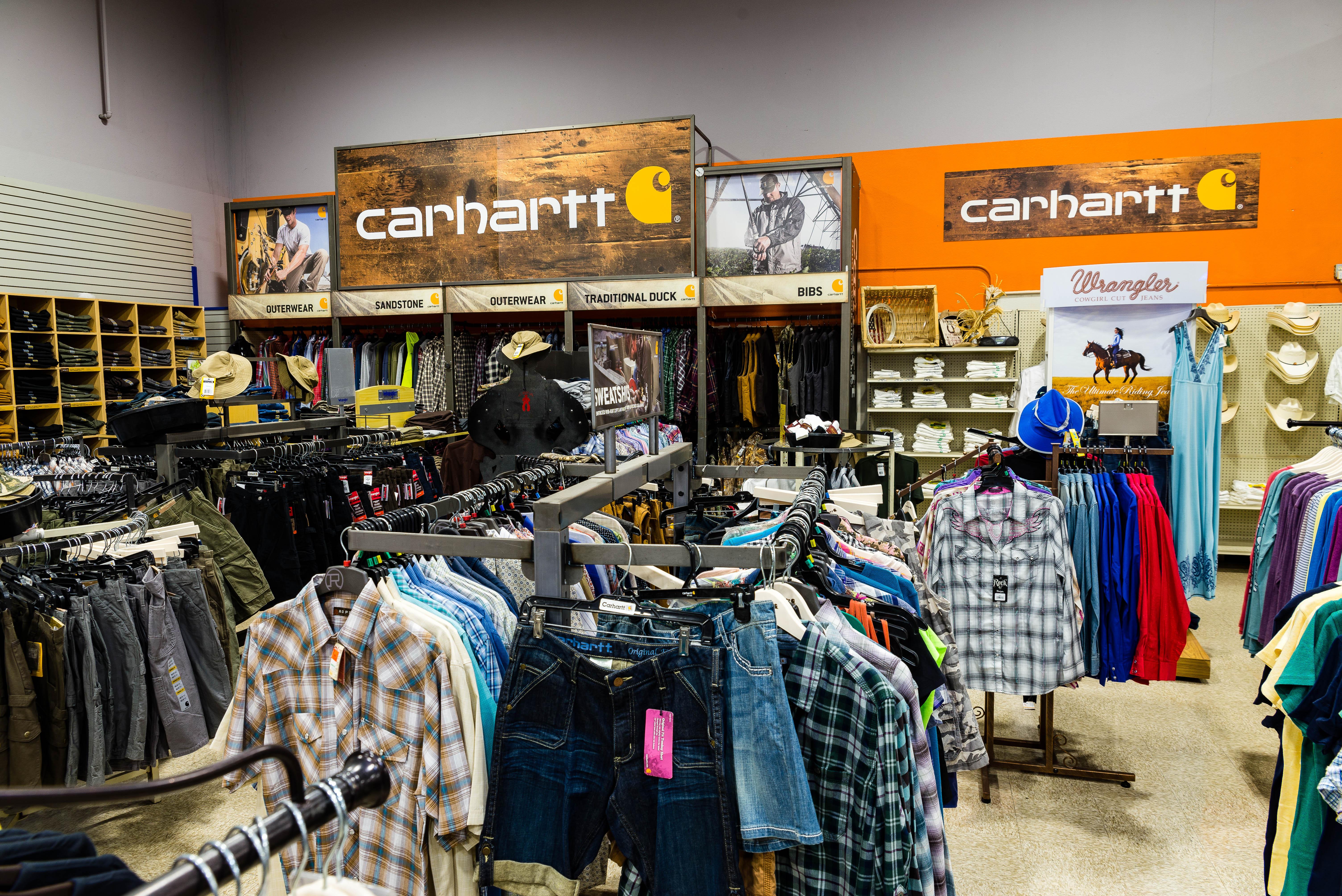 Carhartt Clothing at Rainbow Ag