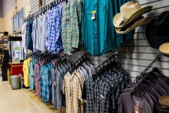Wrangler shirts at Rainbow Ag