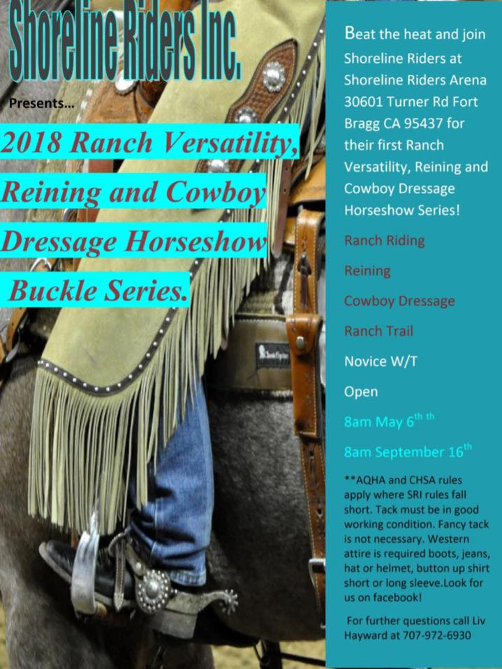 2018 Ranch Versatility, cowboy dressage series