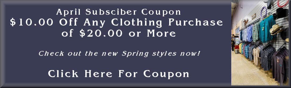 April subscribers coupon
